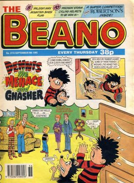 1995 September 9th BEANO vintage comic Good Gift Christmas Present Birthday Anniversary ref103 A vintage comic in good read condition. Please see larger photo and full description for details.