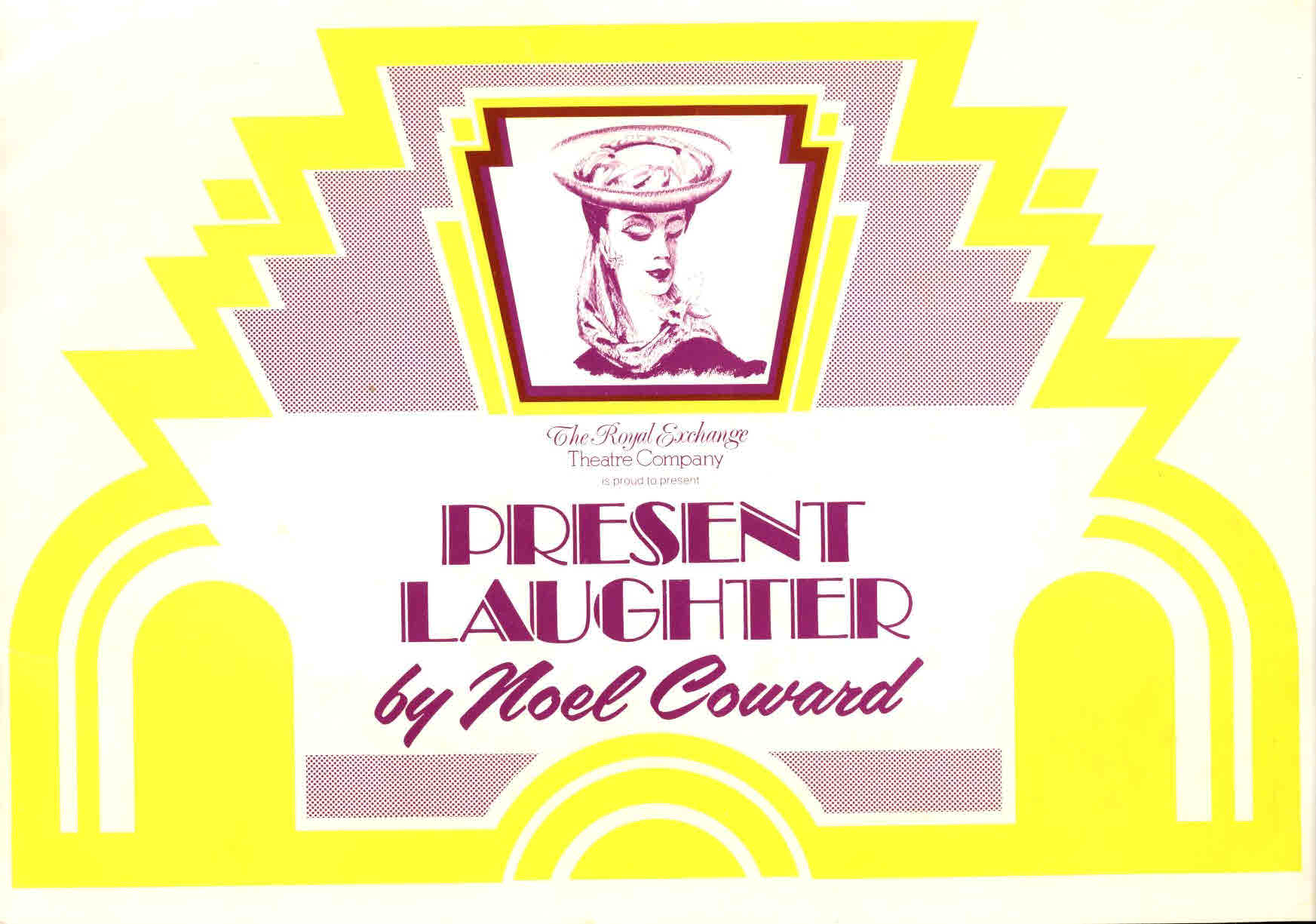 1977 PRESENT LAUGHTER by Noel Coward Royal Exchange Theate programme 20 pages ref01-008 30cm x 21cm approx. This is a used item in good condition. Please read full description.