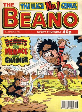 1996 May 4th BEANO vintage comic Good Gift Christmas Present Birthday Anniversary ref105 A vintage comic in good read condition. Please see larger photo and full description for details.