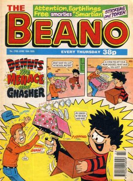 1995 June 10th BEANO vintage comic Good Gift Christmas Present Birthday Anniversary ref106 A vintage comic in good read condition. Please see larger photo and full description for details.