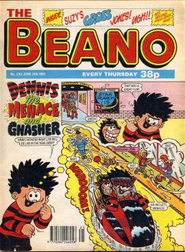 1995 June 24th BEANO vintage comic Good Gift Christmas Present Birthday Anniversary ref109 A vintage comic in good read condition. Please see larger photo and full description for details.