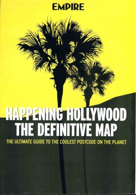 Empire Happening Hollywood The Definitive Map (Folds out) refS2-023  This vintage publication is in Good Condition for age.  Please read the full description and see photo. This listing is for the Magazine ONLY. Sorry no extras