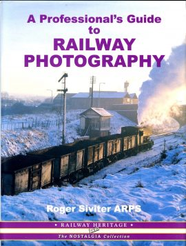 A Professional's Guide to RAILWAY PHOTOGRAPHY Roger Siviter 2002 HB Book with DJ ref109 This is a pre-owned book in very good condition for age and use. It has been read so may have some signs of handling and page corner turns.