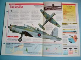British Aircraft of World War II Card 25 Blackburn ROC/SKUA dive bomber turret