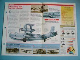 British Aircraft of World War II Card 31 Short SINGAPORE maritime patrol