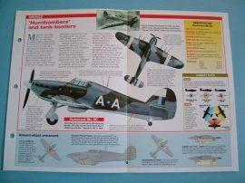 British Aircraft of World War II Card 41 Hawker HURRICANE Mk II/IV