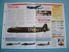 British Aircraft of World War II Card 44 Avro MANCHESTER Night bomber