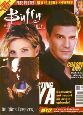 Buffy The Vampire Slayer magazine ANYA Mar 2003 no.44 Very Good Used Condition. This magazine has been read and has some light page turn creases. refB1-7