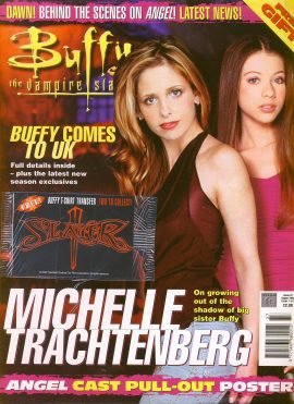 Buffy The Vampire Slayer magazine August 2002 no.37 Good Used Condition. This magazine has been read and has some light page turn creases refB1-4