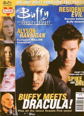 Buffy The Vampire Slayer magazine Dec 2000 no.15 Spike and Dru