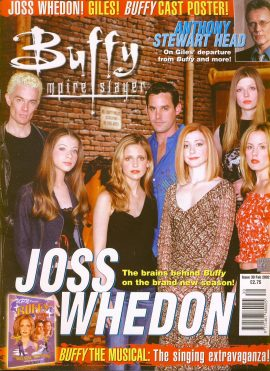 Buffy The Vampire Slayer magazine Feb 2002 no.30 Good Used Condition. This magazine has been read and may have some light page turn creases. refB1-3