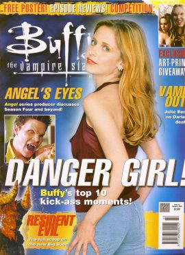 Buffy The Vampire Slayer magazine Feb 2002 no.43 Very Good Used Condition. This magazine has been read and has some light page turn creases. refB1-8