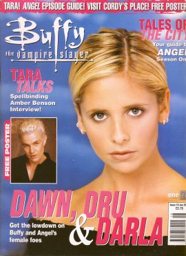 Buffy The Vampire Slayer magazine Jan 2001 no.16 Good Used Condition. This magazine has been read and may have some light page turn creases. refB1-25