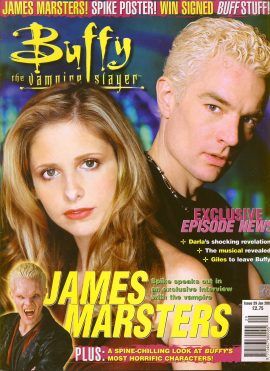 Buffy The Vampire Slayer magazine Jan 2002 no.29 SPIKE Good Used Condition. This magazine has been read and may have some light page turn creases. refB1-26