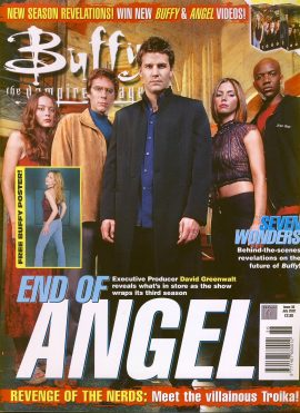 Buffy The Vampire Slayer magazine July 2002 no.36 Good Used Condition. This magazine has been read and has some light page turn creases. refB1-1