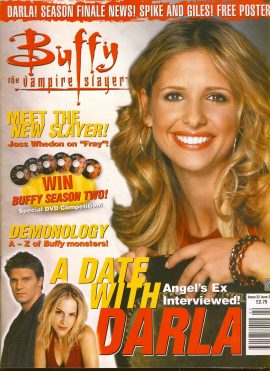 Buffy The Vampire Slayer magazine June 2001 no.32 Good Used Condition. This magazine has been read and may have some light page turn creases. refB1-21