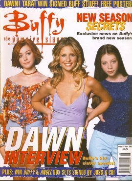 Buffy The Vampire Slayer magazine Sept 2001 no.25 DAWN Very Good Used Condition. This magazine has been read and may have some light page turn creases. refB1-30