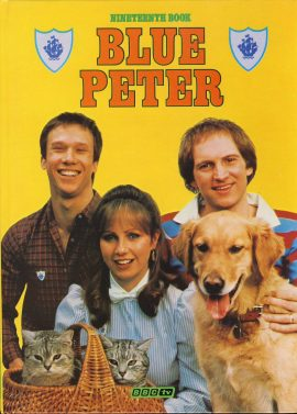 1982 Blue Peter Annual Nineteenth Book BBC TV Simon Sarah and Peter on the cover. Very good condition.