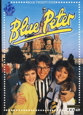 1988 Blue Peter Annual Book 24 BBC TV Mark Caron and Yvette on cover. Very good condition.