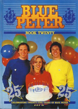 1983 Blue Peter Annual Book Twenty BBC TV Simon Peter Sarah on cover. Good general condition. Creases on cover.