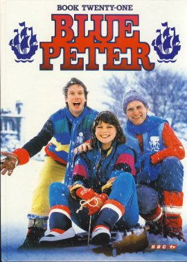 1984 Blue Peter Annual Book Twenty One BBC TV Simon Peter and Janet on cover. Very Good Condition with slight bump to spine.