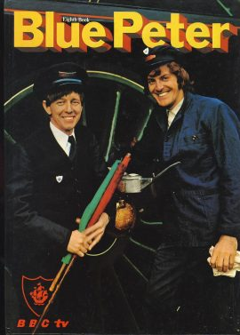 1971 Blue Peter Annual Eighth Book BBC TV in good condition. John Noakes and Peter Purves on cover.