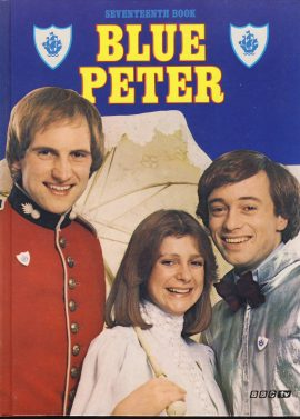 1980 Blue Peter Annual Seventeeth Book BBC TV in very good condition.