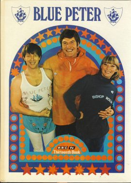 1976 Blue Peter Annual Thirteenth Book BBC TV in good condition. Puzzles / colouring completed. Some marks on cover. John Noakes