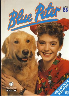 1989 Blue Peter Annual Book 25 BBC TV in very good clean condition. Yvette Fielding on cover
