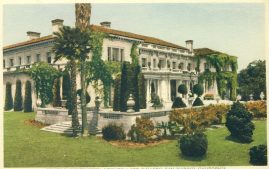 Huntington Library & Art Gallery San Marino California Vintage Postcard refP1 Please see BOTH large photos and description for details.