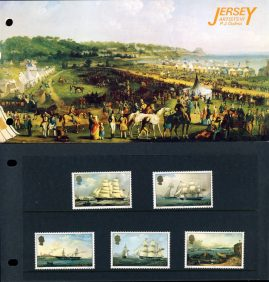 Jersey Artists VI PJ Ouless Stamps Presentation Pack refE101088 Stamps in very good condition. Please see larger photo and full description for details.
