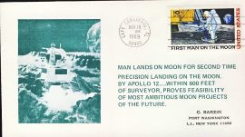 1969 Cape Canaveral First Man on the Moon United States stamp cover refd102 In very good condition for age . Please see larger photo and full description for details. Not sealed no insert.