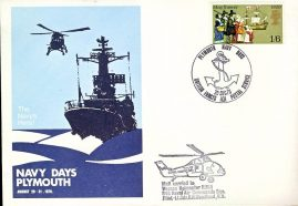 1970 Wessex Helicopter HM5 846 Naval Air Commando Sqn Pilot Lt.Cdr.R.N.Woodland R.N. NAVY DAYS PLYMOUTH BFPS 1131 cover refD219 In very good condition. Unsealed no insert card. Marks on reverse. Please see larger photo and full description for details.