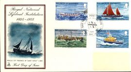 RNLI 1974 Guernsey First Day Cover MERCURY Lifeboats cover refE101098 Cover in Good condition. Unsealed no insert card. Please see larger photo and full description for details.
