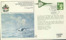 RAF FF6 British Airways CONCORDE 40th Anniversary Trans Atlantic air mail cover refd0011 In very good condition for age. Please see larger photo and full description for details. Unsealed with insert card.