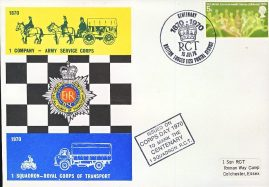 R.C.T British Forces Postal Service 1123 centenary stamps cover 1970 refD2294 In very good condition. Please see larger photo and full description for details.