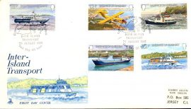 1981 Inter-Island Transport Guernsey stamps First Day Cover Mercury refE101104 Cover in Good condition. Unsealed no insert card. Please see larger photo and full description for details.