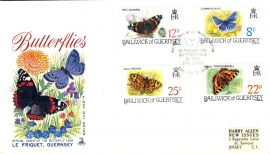 1981 Official Butterflies Guernsey stamps First Day Cover Mercury refE101105 Cover in Good condition. Unsealed no insert card. Please see larger photo and full description for details.