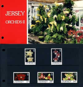 Jersey Orchids II Stamps Presentation Pack refE101089 Stamps in very good condition. Please see larger photo and full description for details.