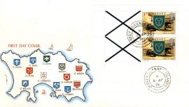 Parish of Trinity 1976 Jersey stamps Booklet Pane FDC Mercury cover refE101109 Cover in Good condition. Unsealed no insert card. Please see larger photo and full description for details.