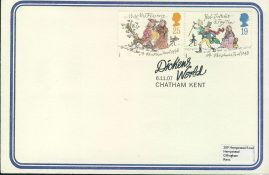 2007 A Christmas Carol Dickens World Chatham Kent stamps cover refd0022 In very good condition for age. Please see larger photo and full description for details. Unsealed.