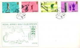 1978 Royal Jersey Golf Club first day of issue stamps cover FDC refE101120 Cover in Good condition. Unsealed with insert card. Please see larger photo and full description for details.