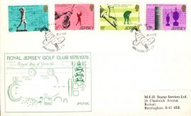 Royal Jersey Golf Club 1878 / 1978 Stamps First Cover Cover refE101121 Cover in Good condition. Unsealed with insert card. Please see larger photo and full description for details.