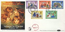 LTD Ed 1979 Christmas Commemorative Flight Bethlehem Tate Gallery ANGELS HEADS NSPCC stamps cover BOCS15 refD158 Limited Edition 281/850 - see second photo. In very good condition. With Insert Card. Please see larger photo and full description for details.