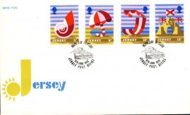 1975 8th June Jersey Tourism stamp First Day Cover Beach scenes refE101122 Cover in Good condition. Unsealed with insert card. Please see larger photo and full description for details.