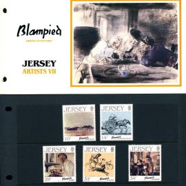 Jersey Artists VII Blampied Birth Centenary Stamps Presentation Pack refE101092 Stamps in very good condition. Please see larger photo and full description for details.