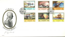 15 Feb 1983 Jersey Adventurers I stamps First Day Cover refE101126 Cover in Good condition. Unsealed with insert card. Please see larger photo and full description for details.