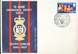 1969 Base Ordnance Depot RAOC NATO First Day Cover refD314 In very good condition for age. Please see larger photo and full description for details.