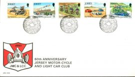 1980 60th Anniversary Jersey Motor-Cycle and Light Car Club stamps First Day Cover refE101129 Cover in Good condition. Sealed. Please see larger photo and full description for details.