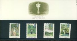 24 August 1983 British Gardens mint stamps presentation pack ref3210 Please see larger photo and full description for details. Unused stamps.